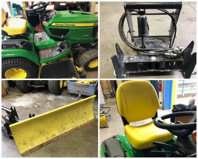 FOR SALE NOW: John Deere X730 Tractor/Mower - $10000